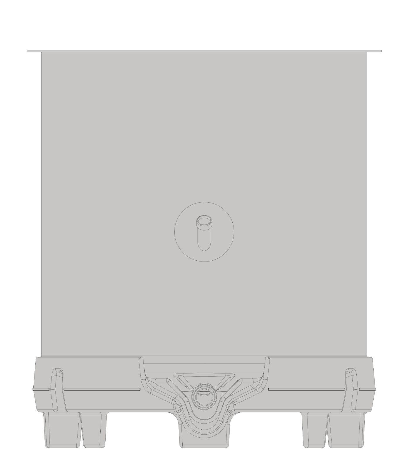 бак SPEIDEL RO-Z открытого типа 530л_2