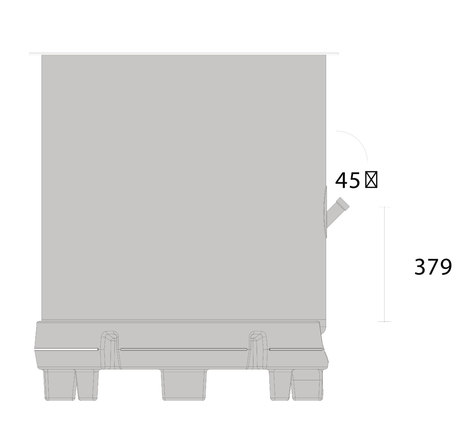 бак SPEIDEL RO-Z открытого типа 750л_3