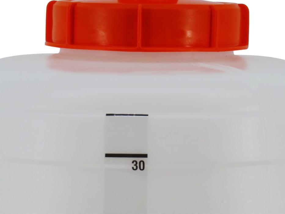 наклейка шкалы объема SPEIDEL для ферментера 30л_3