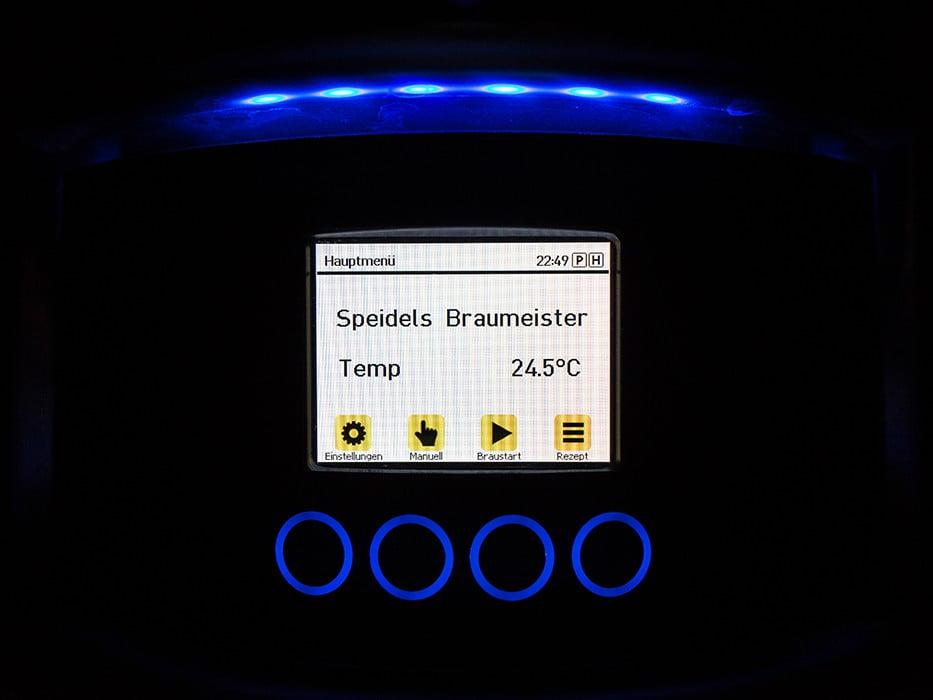 панель управления с TFT-дисплеем SPEIDEL для BRAUMEISTER 10 и 20л_3