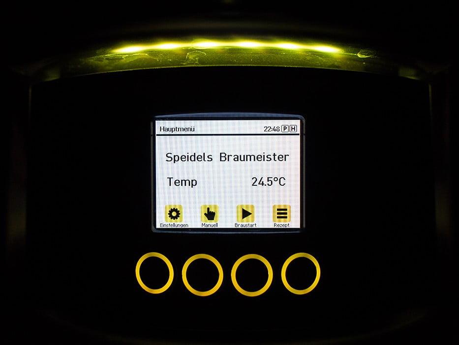 панель управления с TFT-дисплеем SPEIDEL для BRAUMEISTER 10 и 20л_4