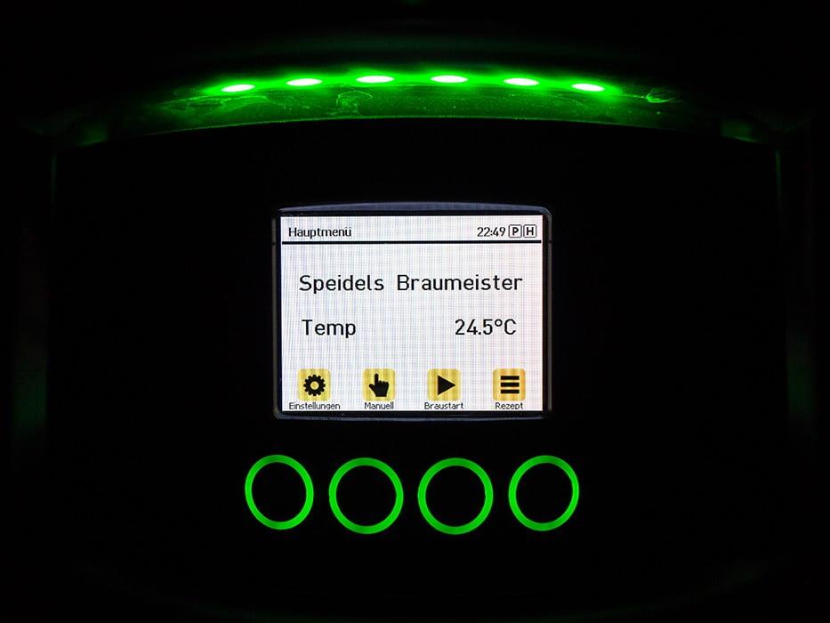 панель управления с TFT-дисплеем SPEIDEL для BRAUMEISTER 10 и 20л_5