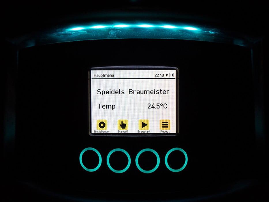 панель управления с TFT-дисплеем SPEIDEL для BRAUMEISTER 10 и 20л_6