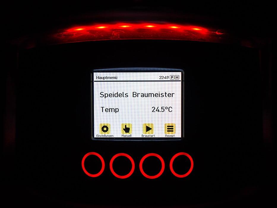 панель управления с TFT-дисплеем SPEIDEL для BRAUMEISTER 10 и 20л_7