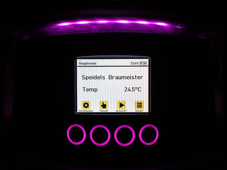 панель управления с TFT-дисплеем SPEIDEL для BRAUMEISTER 10 и 20л_8