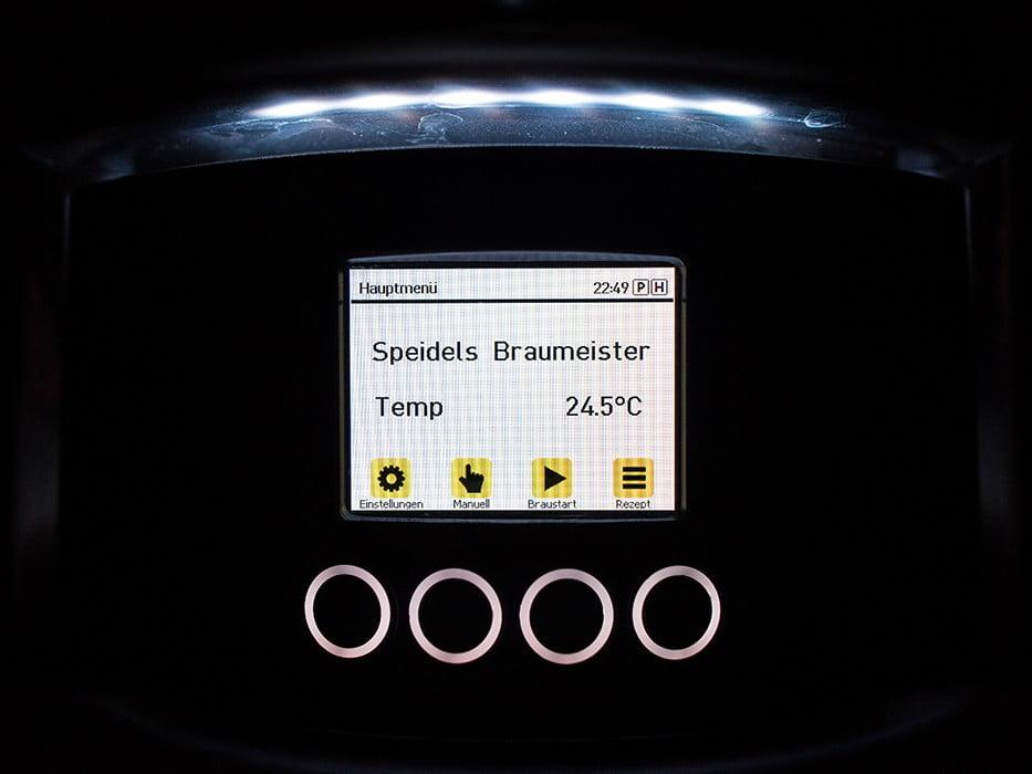панель управления с TFT-дисплеем SPEIDEL для BRAUMEISTER 10 и 20л_9