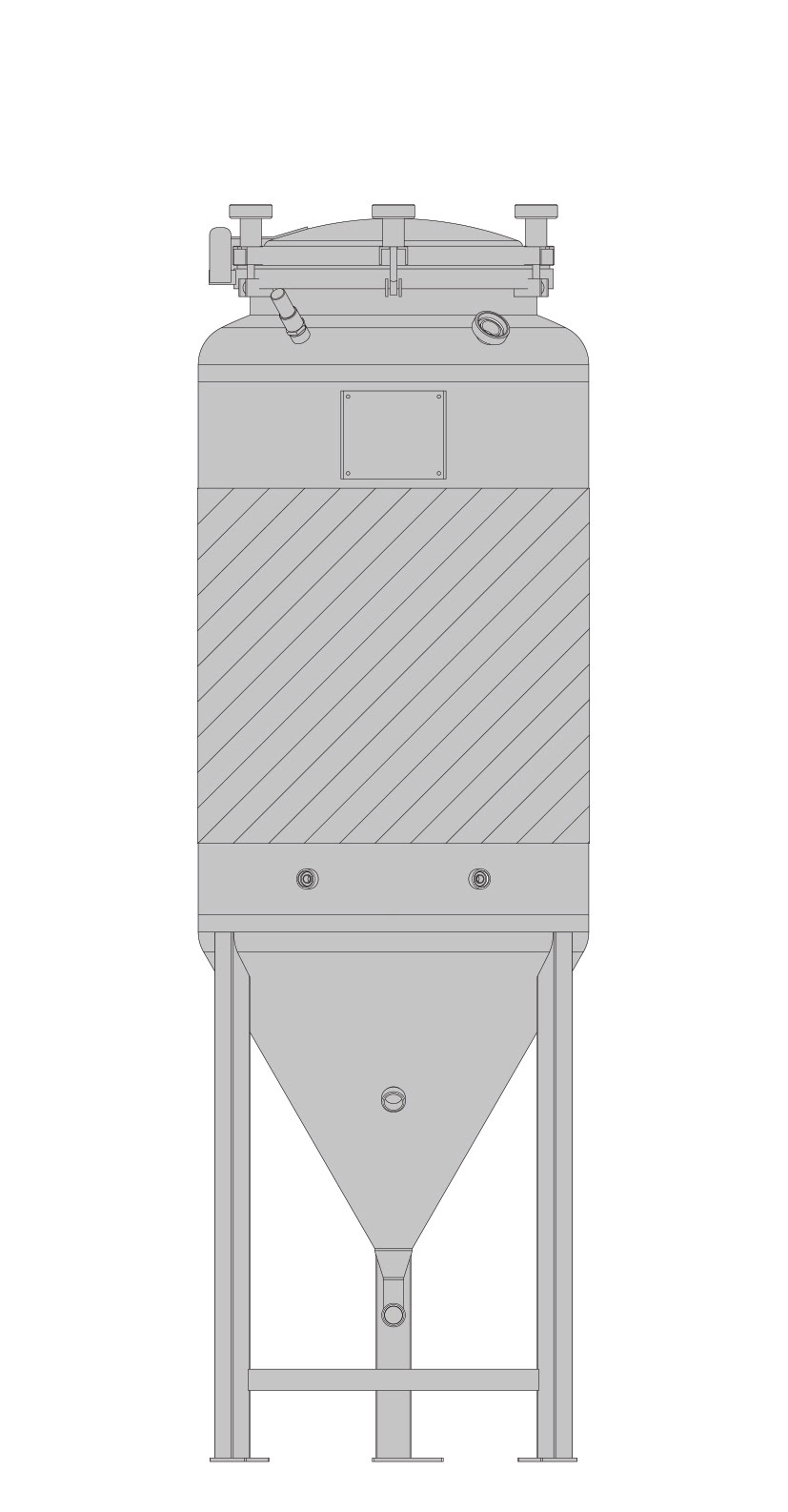 бак-ферментер SPEIDEL FD под давлением ЦКТ 120л_2
