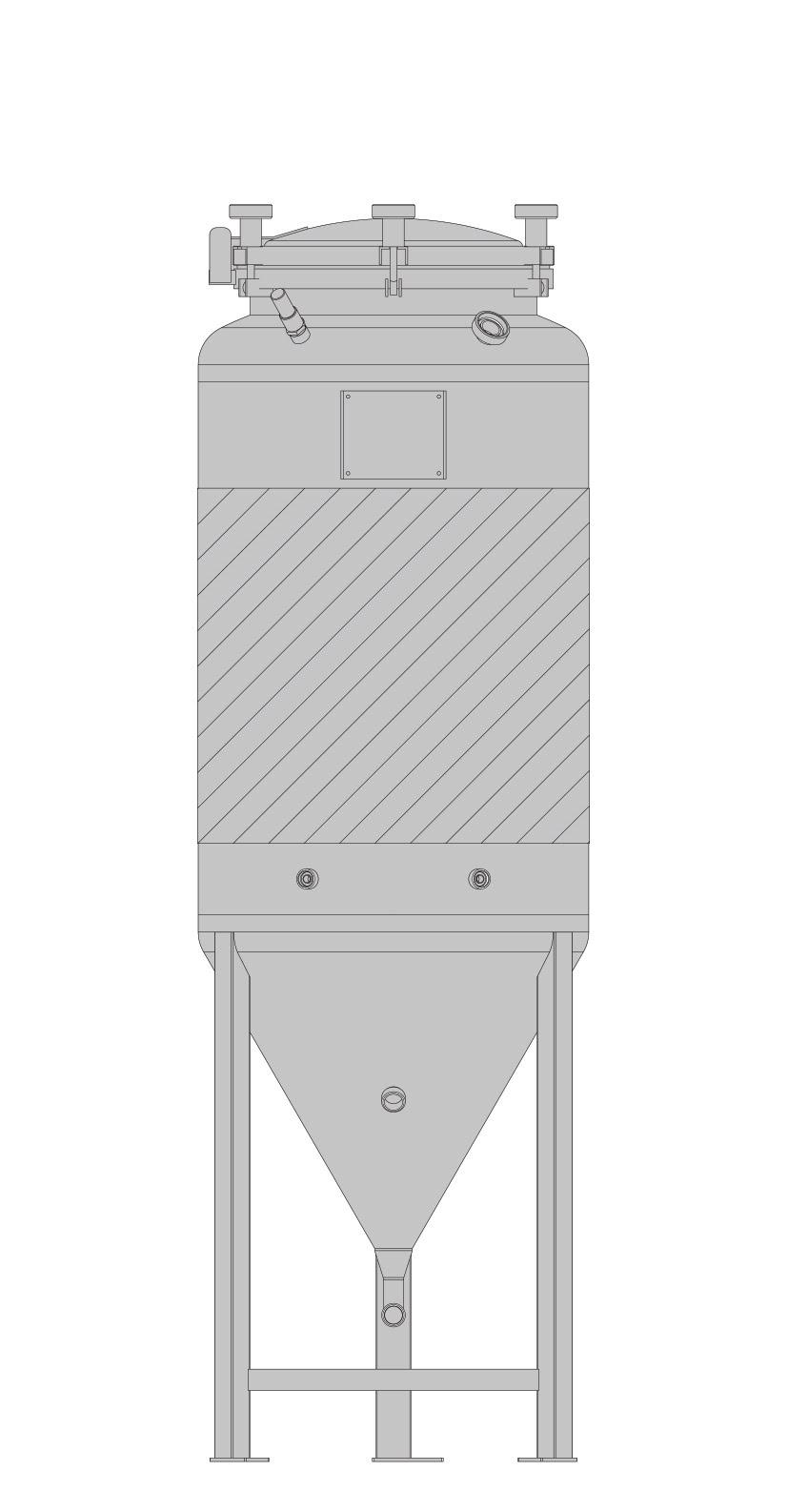бак-ферментер SPEIDEL FD под давлением ЦКТ 625л_2