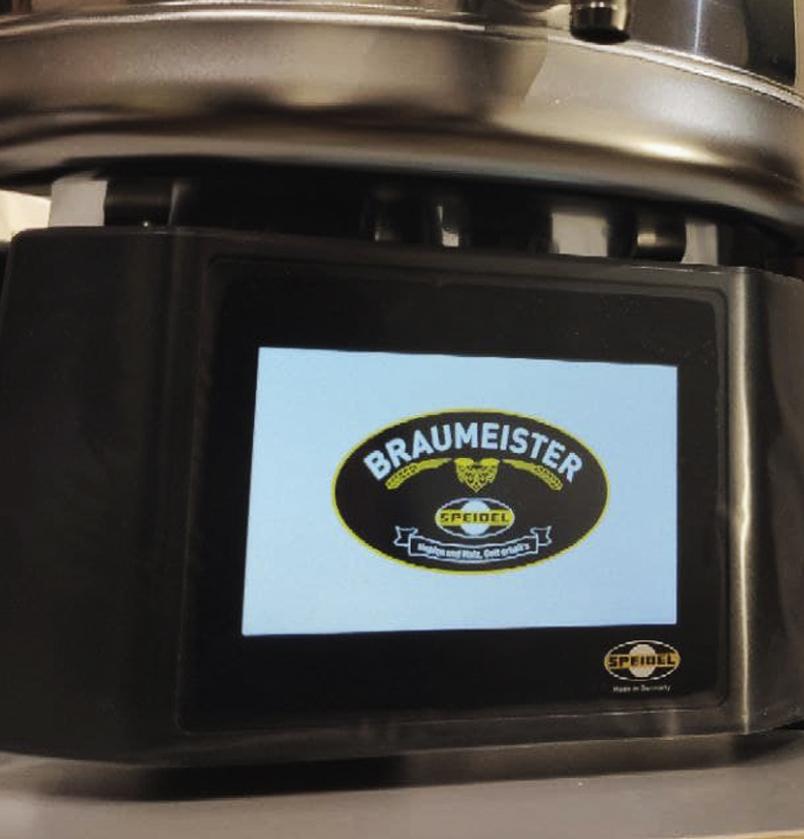 Автоматическая пивоварня меню